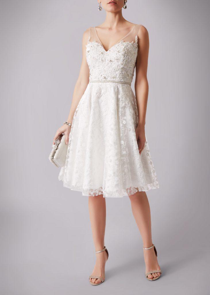 Brautmode Knittlingen- Brautkleid kurz (3)