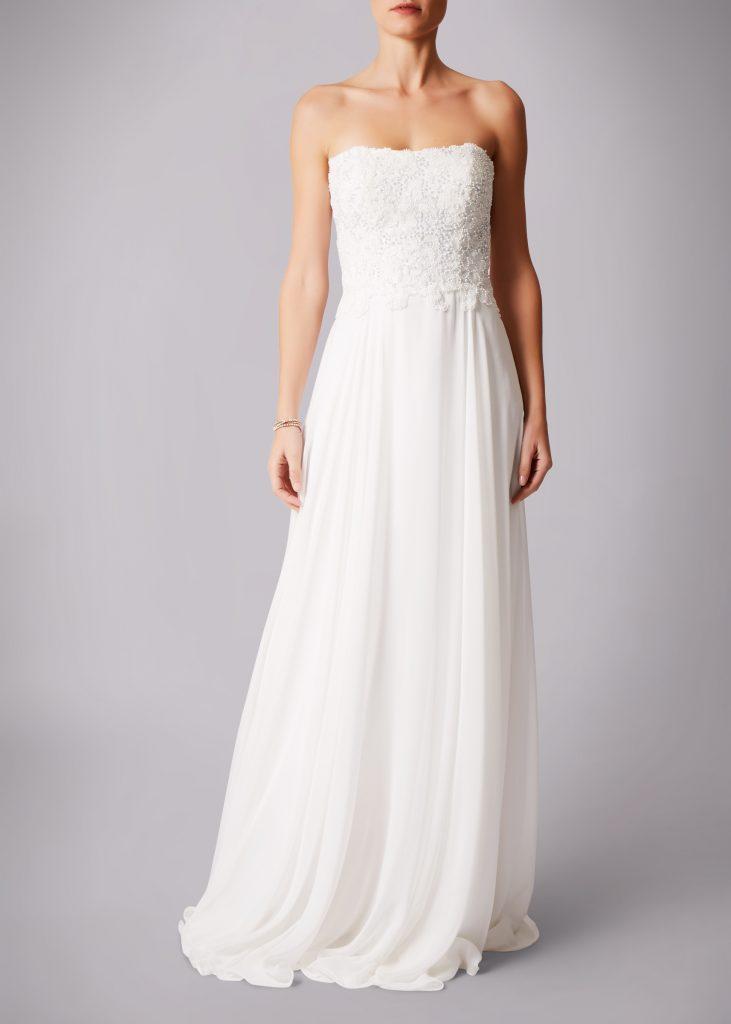 Brautmode Knittlingen- Hochzeitskleid in Ivory
