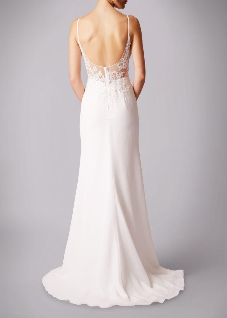 Brautmode Knittlingen- Ein wunderschöner Rücken